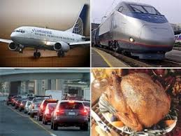 thanksgiving travel threatened by bad weather snow wind