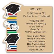 graduation die cut invitations myexpression 9534