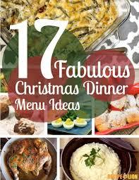 Lunch Buffet Menu Ideas by 17 Fabulous Christmas Dinner Menu Ideas Free Ecookbook