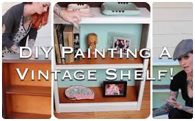 vintage on the shelf easy retro furniture diy how to refinish and repaint a vintage
