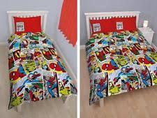 Spiderman Double Duvet Spiderman Bedding Ebay