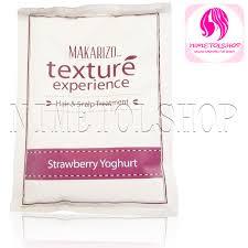 Shoo Makarizo Strawberry jual makarizo texture hairspa sachet strawberry yoghurt