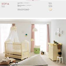 Pali Cribs Modern Baby Bed Cot Sofia In White Magnolia Or Walnut Colours