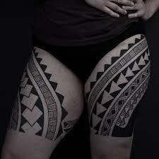 thomas hooper tribal leg tattoo nyc june 28 2010 002 hoopers