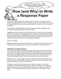 writing white paper how to write a response paper