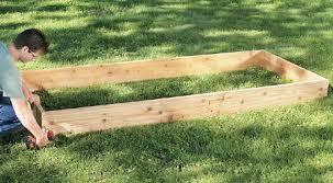 Building Raised Beds Garden Design Garden Design With How To Build Raised Garden Bed