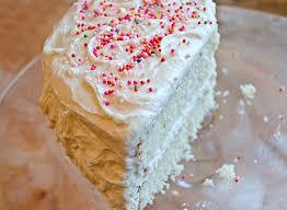vanilla birthday cake with old fashioned vanilla buttercream