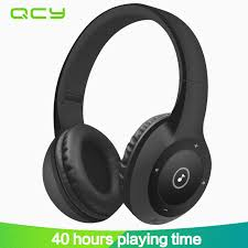 aliexpress qcy 2017 qcy j1 wireless bluetooth headphones noise cancelling headset
