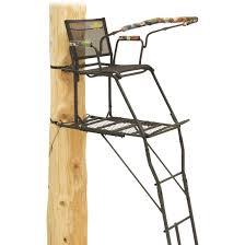 ladder rivers edge 21 u0027 uppercut ladder tree stand 294913 ladder tree
