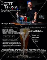 Sample Resume Bartender by Kimberlydaniels Photo Keywords Bartending Template Custom