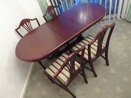 Regency Dining Table And Chairs Regency Dining Table And Chairs Second Hand Household Furniture