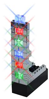 Parts Plus Set E Blox Led Light Up Building Blocks For Kids E