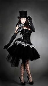 Black Corset Halloween Costume 2pc Victorian Steampunk Black U0026 Black Damask Satin Corset Damask