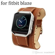 fitbit bracelet leather images Fitbit blaze band genuine leather bracelet watch band buckle for jpg
