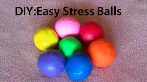 how to make easy stress balls