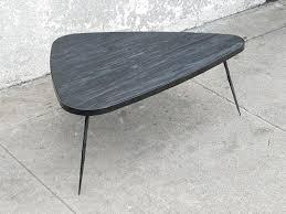 Triangular Coffee Table Triangle Coffee Table Sunbeam Vintage