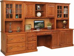 Home Computer Desk With Hutch by Home Office Furniture Amish Custom Furniture