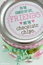 jar gift idea chocolate chip cookie jar club chica
