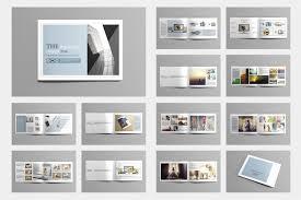 indesign photo album portfolio brochure templates creative lively