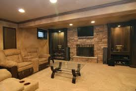 Small Basement Decorating Ideas Kitchen Simple Basement Designs Throughout Satisfying