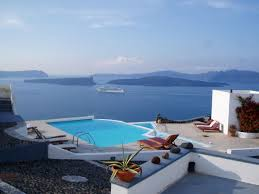 exterior design exciting grace hotel santorini with outdoor pool