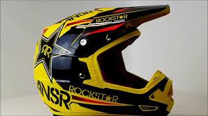 airbrushed motocross helmets answer evolve helmet rockstar vi 360 video youtube