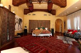 Bedroom Ideas Red And Gold Bedroom Gorgeous Morrocan Bedroom With Dark Red Morrocan Wall