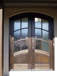 gorgeous double entrance doors with glass modern front double door