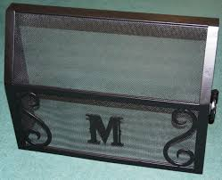 decorative hand forged wrought iron items for the home lawn and