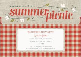 picnic party invitations teen sample resume