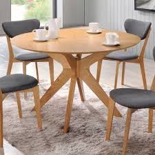 round dining room tables homeclick marvelous table with chairs oak