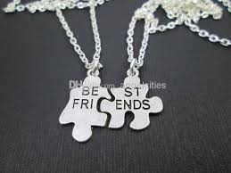 best friends puzzle necklace images Free shipping friends necklaces best friends necklace puzzle jpg