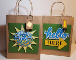 personalized gift bag custom gift bag kraft bag bag