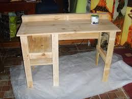 fabriquer un bureau en bois construire un bureau en bois simple nous avons cr une