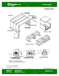 83 Gallon Deck Box by Products Auburn Plants Oldcastle Precast