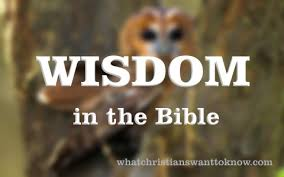 where does wisdom come from a christian study