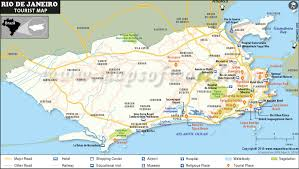 map attractions de janeiro tourist attractions map places visit in de janeiro