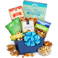 healthy food gift baskets healthy treats gift basket by gourmetgiftbaskets