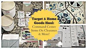 target home goods haul command center items on clearance more