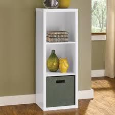 Bookcase With Baskets Cube Storage You U0027ll Love Wayfair