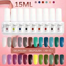 2016 uv gel nail polish soak off matte nail polish 15ml gelpolish