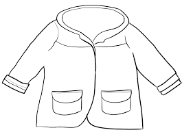 4 best images of printable winter coat winter coat coloring page