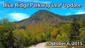 blue ridge parkway fall foliage update october 6 2015 1