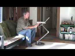 Laptop Desk For Couch by Build A Laptop Stand Youtube