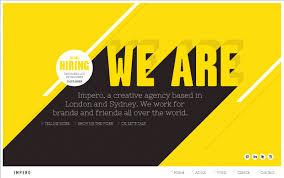 impero black white u0026 yellow colour scheme for website design
