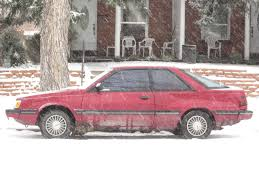 subaru hatchback 1990 down on the mile high street subaru gl hatchback coupe the