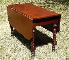 Drop Leaf Pedestal Table Side Table Antique Drop Leaf Pedestal Side Table Lane Drop Leaf