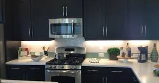 Mocha Kitchen Cabinets by Mocha Shaker Kitchen With Bumped Out Wall Cabinet Above The