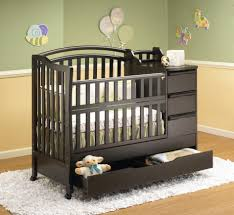 Toddler Changing Table Luxury Espresso Baby Cribs With Changing Table Made From Wood 3
