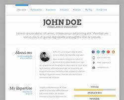 Best Resume Website by 15 Best Wordpress Themes For Creating Resume Cv U0026 Profile
